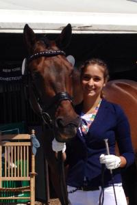 regan salm with her horse